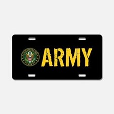 U.S. Army: Army Aluminum License Plate