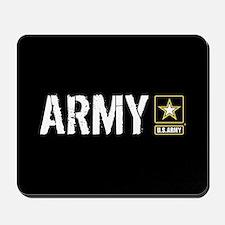 U.S. Army: Army (Black) Mousepad