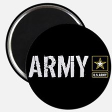 "U.S. Army: Army (Black) 2.25"" Magnet (10 pack)"