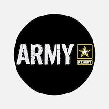 U.S. Army: Army (Black) Button