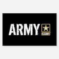 U.S. Army: Army (Black) Decal