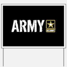 U.S. Army: Army (Black) Yard Sign