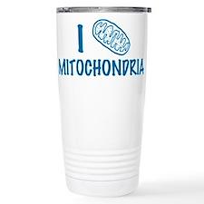 Cute I heart science Travel Mug
