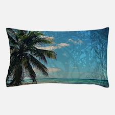 Caribbean Blue Pillow Case