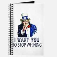 Uncle Sam Stop Whining Journal