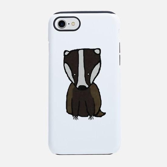 Baby Badger iPhone 8/7 Tough Case