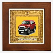 My Dream Car Framed Tile