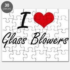 I love Glass Blowers Puzzle