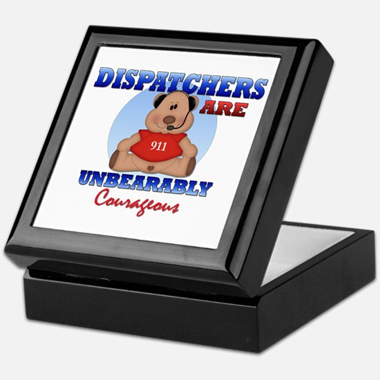 Dispatchers Are Unbearably Co Keepsake Box