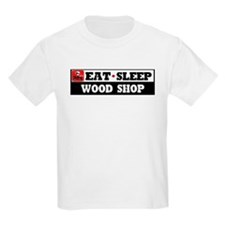 Eat Sleep Wood Shop T-Shirt