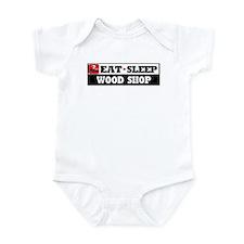 Eat Sleep Wood Shop Infant Bodysuit