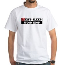 Eat Sleep Wood Shop Shirt