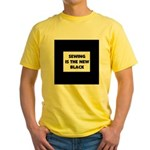 Sewing is the New Black Yellow T-Shirt