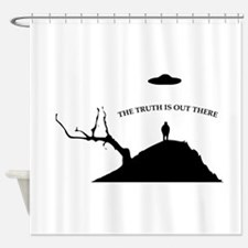 Abduction Shower Curtain