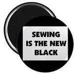 Sewing is the New Black Magnet