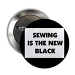 Sewing is the New Black Button