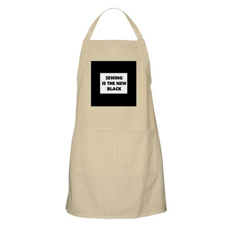 Sewing is the New Black BBQ Apron