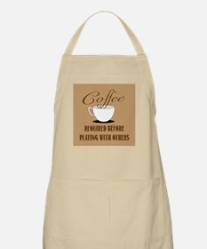Coffee Required Apron