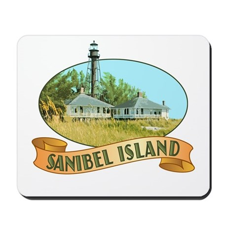 Sanibel Lighthouse - Mousepad