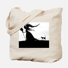 Witch & Cat Tote Bag
