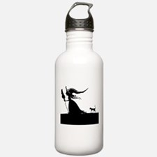 Witch & Cat Water Bottle