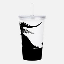 Witch & Cat Acrylic Double-wall Tumbler