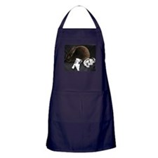 Mama MR & Babies Apron (dark)