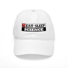 Eat Sleep Science Baseball Cap