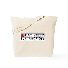 Eat Sleep Psychology Tote Bag