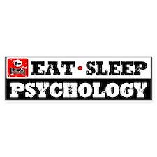 Eat Sleep Psychology Car Sticker