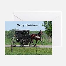 Amish Buugy Greeting Cards