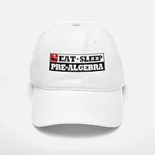 Eat Sleep Pre-Algebra Baseball Baseball Cap