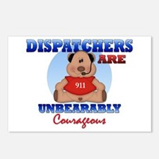 Dispatchers Are Unbearably Co Postcards (Package o