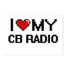 I Love My Cb Radio Digita Postcards (Package of 8)