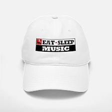 Eat Sleep Music Baseball Baseball Cap