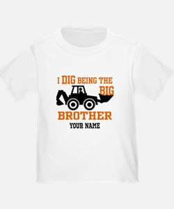 Personalized Big Brother Backhoe T T