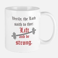 Lift and be strong Mugs