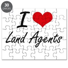 I love Land Agents Puzzle