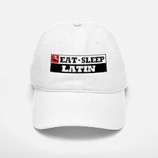 Eat Sleep Latin Baseball Baseball Cap