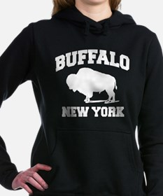 Buffalo New York Women's Hooded Sweatshirt