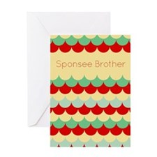 Sponsee Brother Greeting Cards