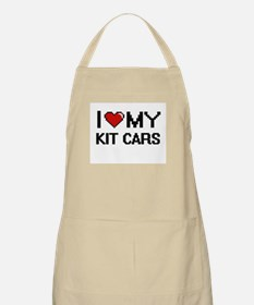 I Love My Kit Cars Digital Retro Design Apron