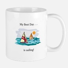 Best Day Sailing Gifts Mugs
