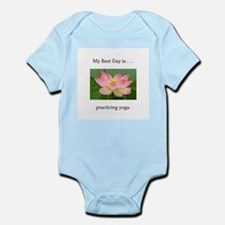 Best Day Pink Yoga Lotus Body Suit