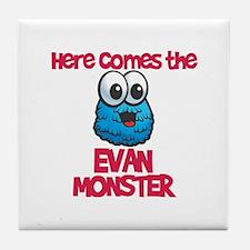 Evan Monster Tile Coaster