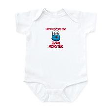 Evan Monster Infant Bodysuit