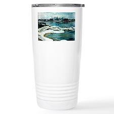 Floating Ice on the Dvi Travel Mug