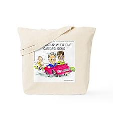 Keeping Up W/ Car-Dash-Sheens Tote Bag