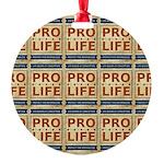 Pro Life Ornament