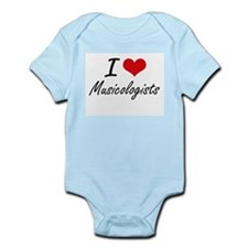 I love Musicologists Body Suit